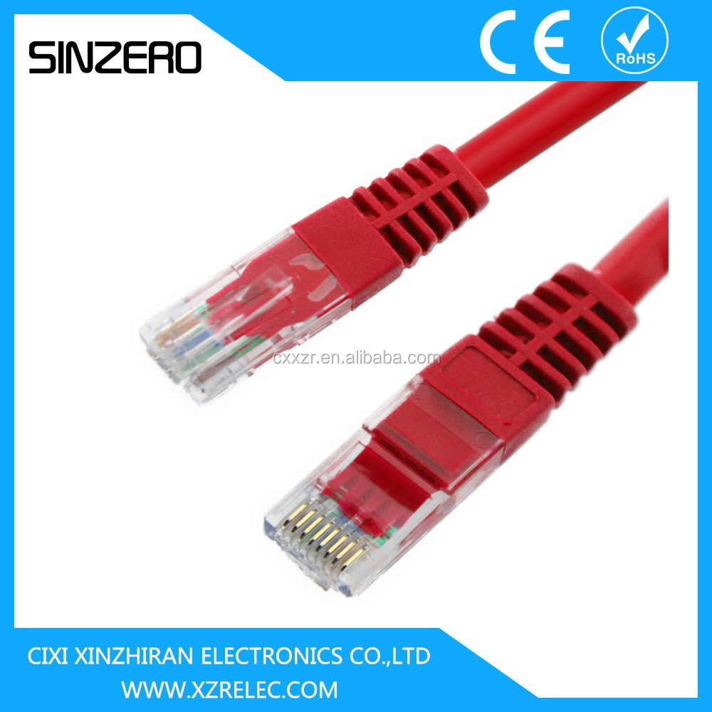 UTP cable cat5e XZRC002/fluke test cat5e utp cable network/Fiber optic patch cord