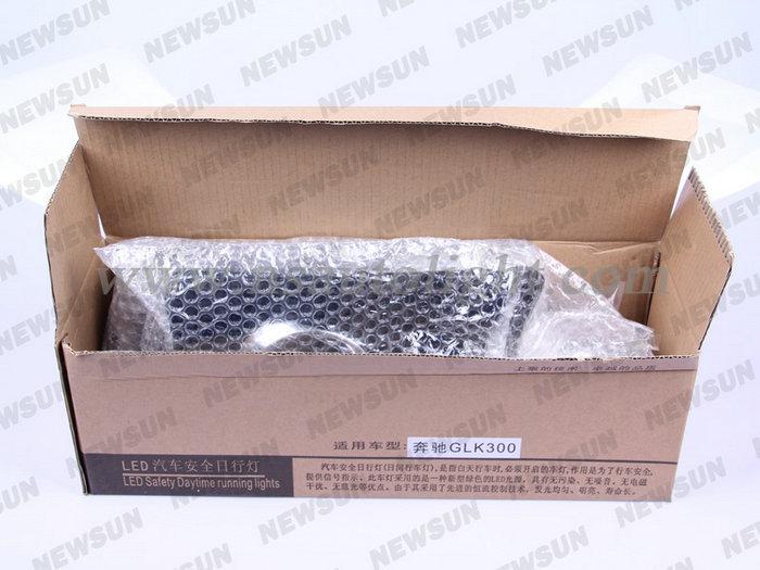 Оригинальный размер из светодиодов дневного фары дневного света противотуманные фары замена для дневного света DRL для mercedes-benz GLK300 350 400 500