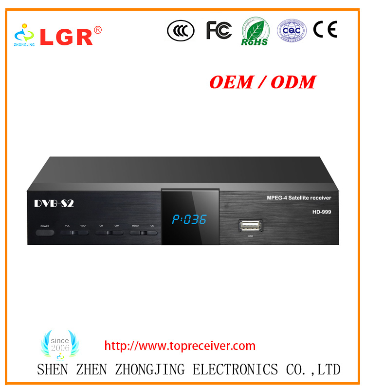 Africa hot selling dvb-s2 satellite receiver support YouTube+3G+Powervu