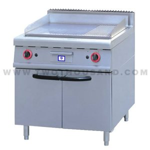 TT-WE155C 40262BTU CE Commercial Gas Pancake Griddle with Cabinet