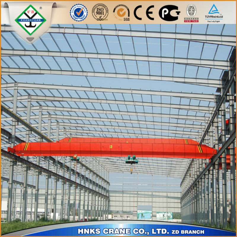 High Tech China 20 Ton Electric LDA Model Motor Driven Single Beam Overhead Crane Price