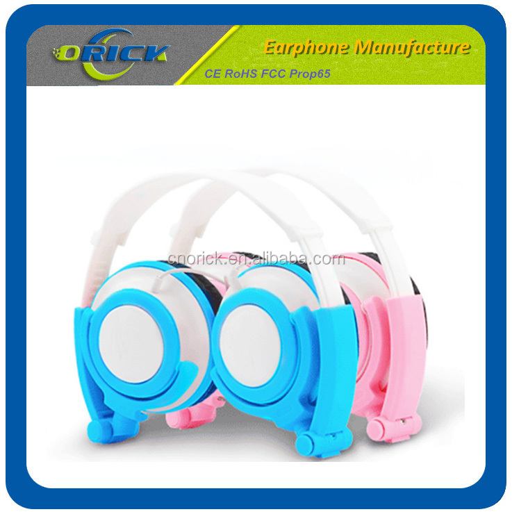 OEM Colorful zipper headphone with fancy design for children cheap zipper headphone