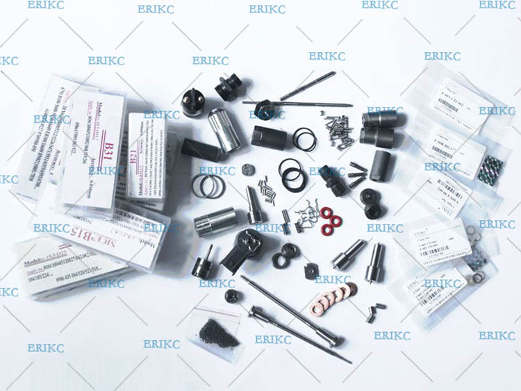 ERIKC bico injector repair kit F 00R J03 515 ( F00RJ03515 ) F00R J03 515 nozzle DLLA142P2262 for 0 445 120 289