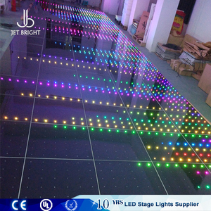wholesale party rental equipment pressure sensitive rgb led dance floor light