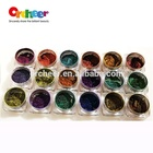 Orcheer Optical chameleon pigment powder, chrome mirror effect chameleon pigment for car painting, Nail gel