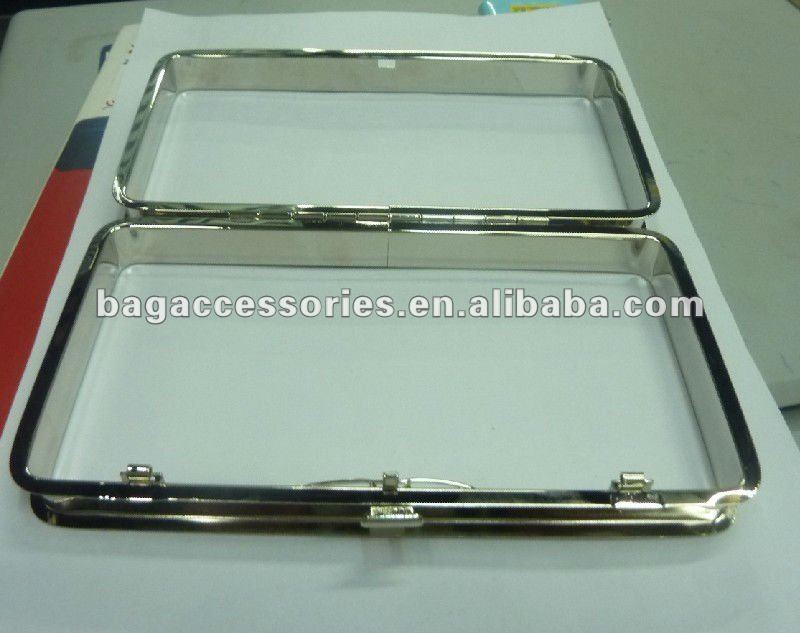 Box Clutch Frame - Buy Box Clutch Frame,Zinc Alloy Wallet Frame ...