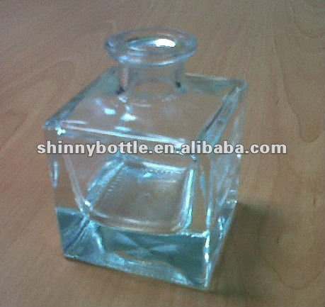 customized square glass diffuser, perfume/scent container