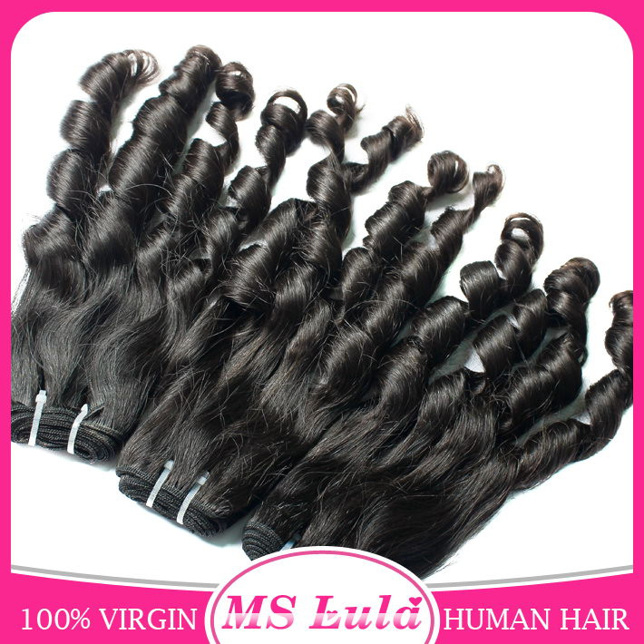 Wholesale brazilian hair extension human hair kinky crul candy curl human weaving hair