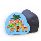 Hot sale cheap rubber 3d pvc fridge magnet,dubai travel souvenir fridge sticker