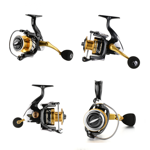 Professionelle 14BB Mini Angeln Reel Aluminium Baitcasting Links Hand Angeln Reel