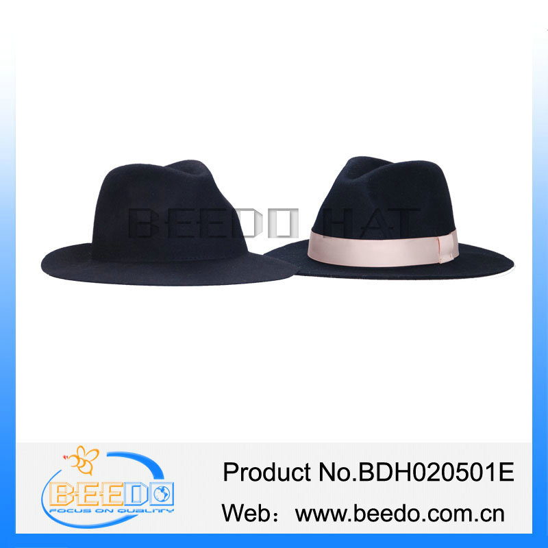 100% Wool Felt Men Floppy Fedora Hat Blank Wholesale Muslim Hat ... 19e876c16ea