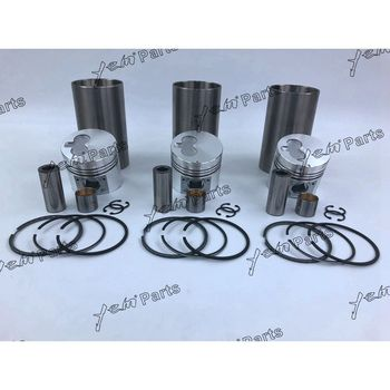 3KR1 Engine Liner Kit With Piston Rings Set For Isuzu Engine