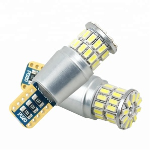 Wide Voltage w5w Lamp T10 38 smd 3014 Car With Light Led Bulb