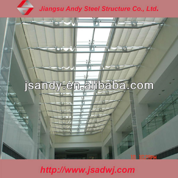 steel structure multi-storied building rain-proof platfond