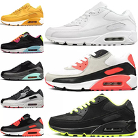 cheap brand name men classic sports shoes Air cushion 90 Running sneakers factory cheap wholesale shoes in china
