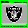 High quality elaborate advertising nfl oakland raiders scarf