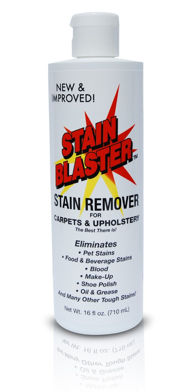STAIN BLASTER 16oz - Carpet and Upholstery Stain and Odor remover. Perfect for: Carpet Stain Removal, Pet Stain Removal and Pet Odor Removal. The best there is.