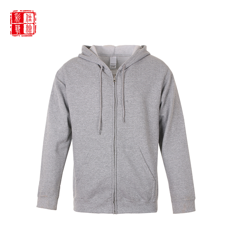 Good sealed custom breathable cheap men zipper blank hoodies wholesale