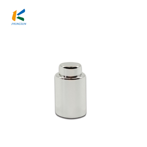 Customized Glass Cosmetic Jar Essential Oil Bottle Aluminum Lid Screw Cap Press The Cover