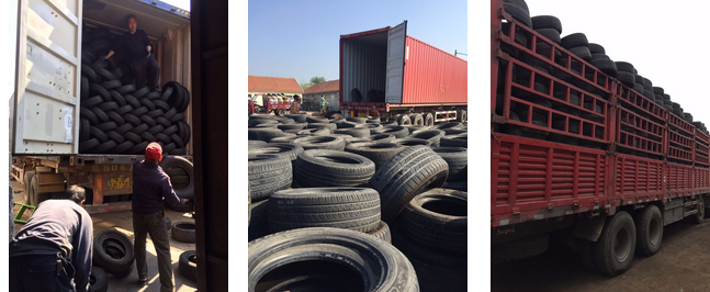 High Quality Used Passenger Car Tire 13-20inch