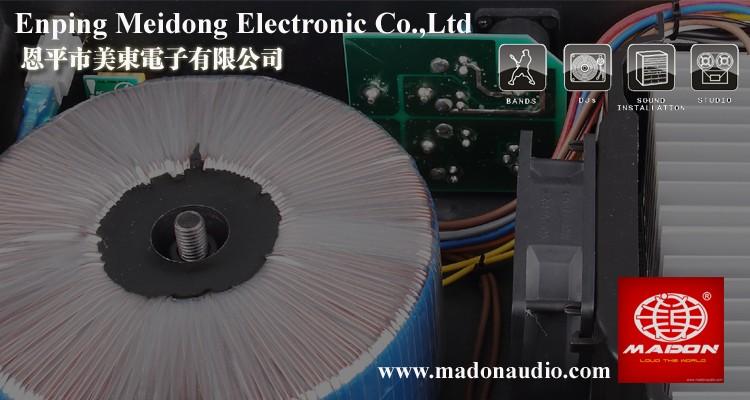 A-100 power amplifier class ab professional 1U anology
