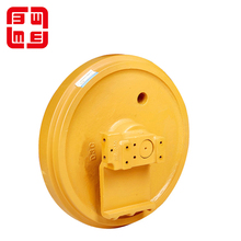 Wheel assembly excavator carrier front roller