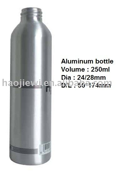 250ml Aluminum bottle