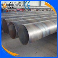 Low price hot dip spiral corrugated galvanized culvert pipe