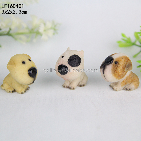 Resin Handicrafts manufacturers selling Cartoon dog animal simulation Home Furnishing living room decoration