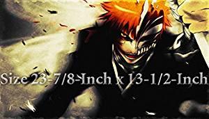 Bleach Ichigo Kurosaki Hollow Mask Custom Playmat, Bleach Ichigo Kurosaki PLAY MAT, Custom Bleach Game Playmat | Size 23-7/8-Inch x 13-1/2-Inch