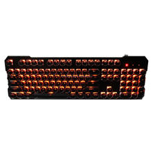 Hot selling Retro punk design best wired multimedia mechanical keyboard with competitive price for gaming