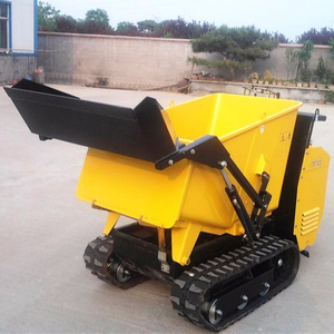 CE hydraulic tracked mini dumper for Europe market