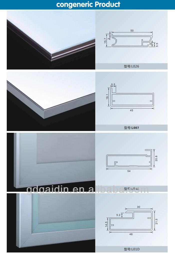 Aluminum Frame Cabinet Door Oil Rubbed Bronze With Frost Glass This Kitchen Is Aluminium Frame