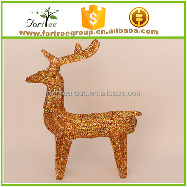 hot sale beautiful lighted outdoor christmas decorative deer
