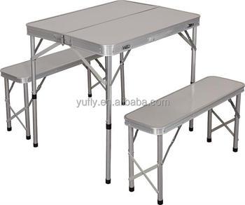 складной столик для пикника в комплекте 1 стол 2 скамейки сад кемпинг пиво складной стол Buy пивной садовый стол и скамейкаскладной обеденный