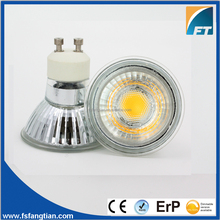 Halogen Feel Glass Shell Material COB/ SMD GU10 LED Spotlight Dimmable