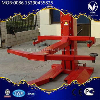 Single post electrical release car lift portable with CE