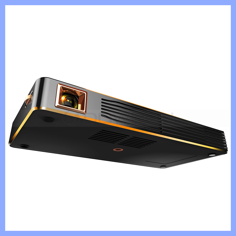 1.2GHz Cortex A7 1G DDR3 8GB RAM Android 4.4 Smart LED Projector WVGA 854*480 100 Lumens C800 1080P HD Video LED Projector