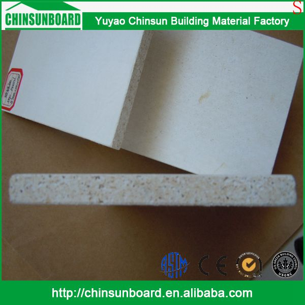 CE certificated Tested Waterproof Finely Processed Use vogue magnesium oxide board