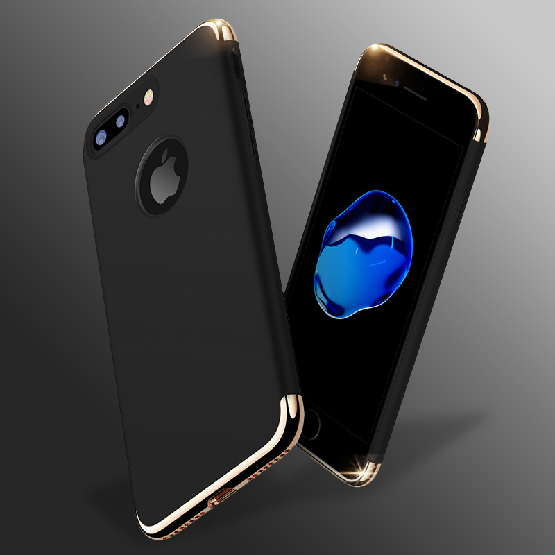 For iPhone 7 Case Stylish Thin Hard Case with 3 Detachable Parts for Apple iPhone 7 case