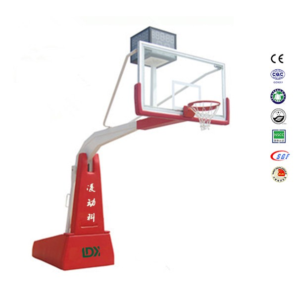 Competition extension 3.35m basketball pole stand