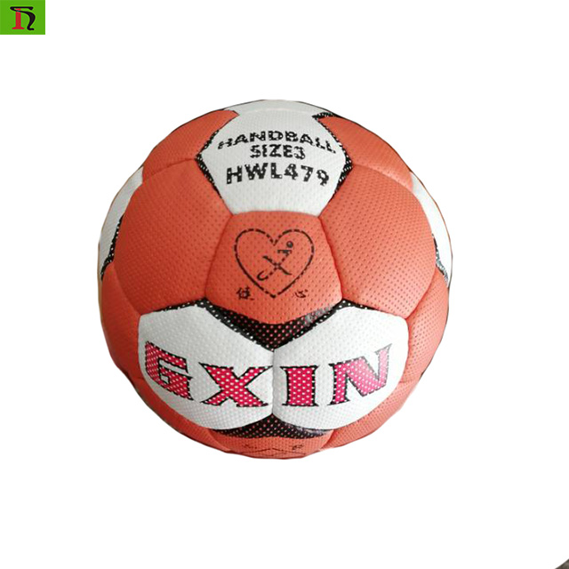Handball Size 1# 2# 3# Soft PU Hand Stitched Custom Logo Training Match Mini Handball