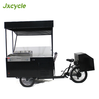 mobile 3 wheel fast food hot dog bike with freezer, View hot dog bike,  Jxcycle Product Details from Huaibei Jinxin Electric Bicycle Co , Ltd  on