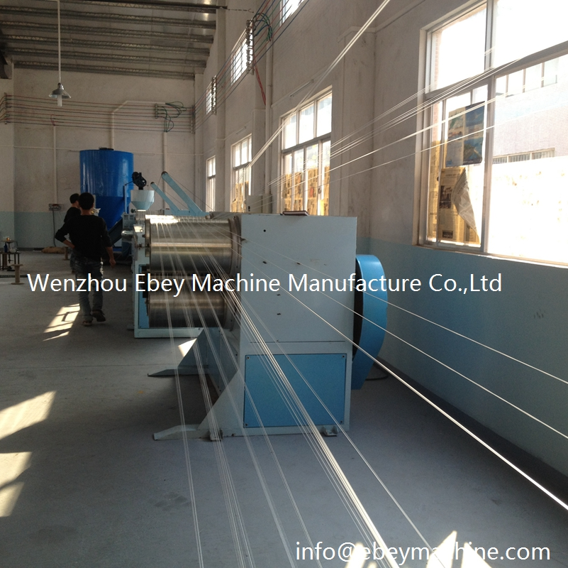 Pp Filament Monofilament Extrusion Drawing Sisal Yarn Machine