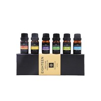 GOOD Quantity 100% natural oil ,00% Pure Essential Aromatherapy Oils Gift Set-6 Pack , 10ML