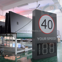China Rader speed LED sign VMS series LED from professional supplier