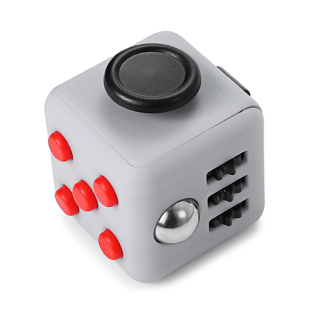 Stress/Anxiety New Design Relax Fidget Cube Toy Stress Relief Cube Plastic Fidget Cube
