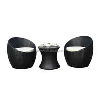 cheap rattan garden chinese bright colored outdoor furniture