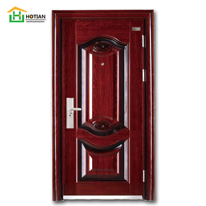 external steel single doors imitted copper security swing door used exterior doors for sale