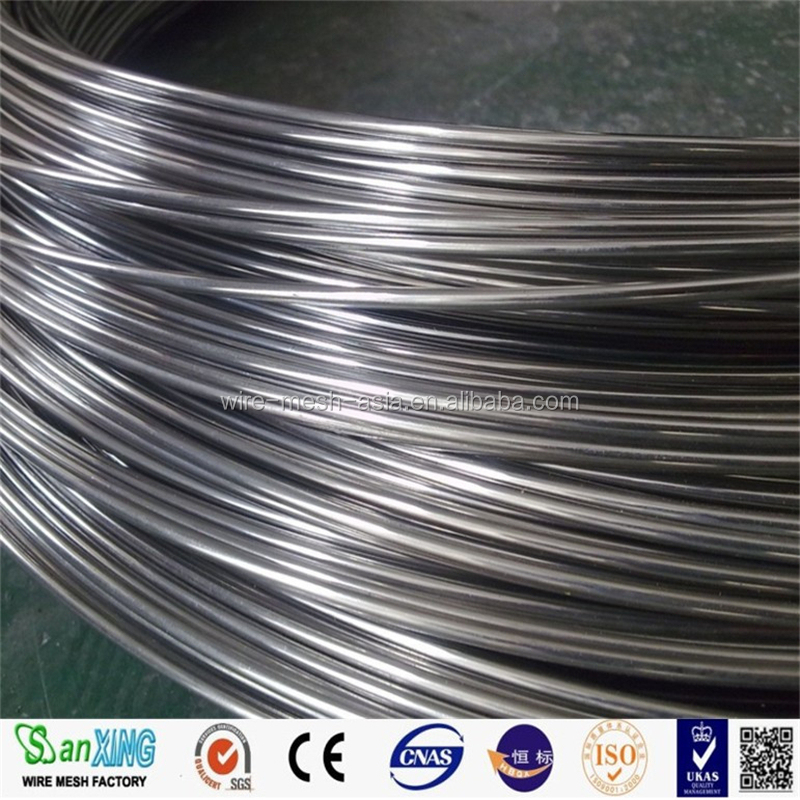 2016 Top Sales!! 8% Ni 304 STAINLESS STEEL WIRE, SHINING SS WIRE